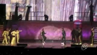 "Chris Brown ""Freeze"" Dance-off - Manchester Evening News Arena - 10th Jan 09"