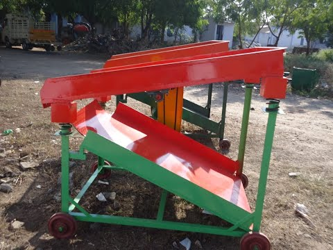 Single Phase Table Type Sand Siever