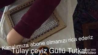 Boncuklu Peçeteye Tutkal Ve Kum Nasıl Uygulanır 2017