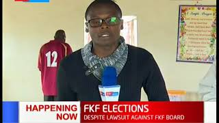 Footbal Kenya Federation elections underway in 18 branches despite lawsuit against the board