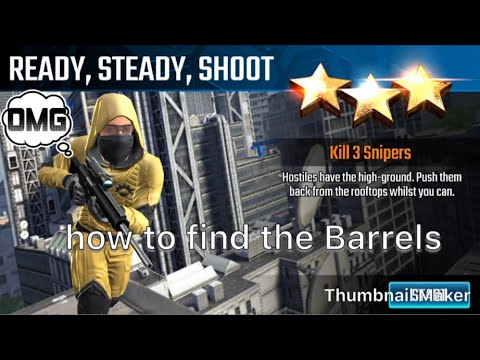 Ready steady shoot, Sniper strike special ops mission #21- London (Sniper/zone2)