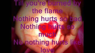 Nothing Hurts Like Love-Daniel Bedingfield-lyrics