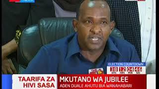 Majority Leader Aden Duale sets new demands for IEBC