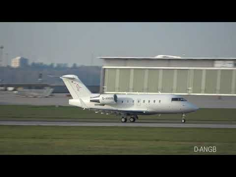 Bombardier Challenger 604 MHS Aviation D-ANGB