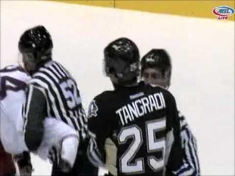 Eric Tangradi vs Dane Byers