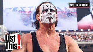 5 Superstars, die ihr WWE In-Ring-Debüt bei WrestleMania gaben -WWE List This! (DEUTSCH)