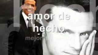 Amor De Hecho - Luis Miguel  (Video)