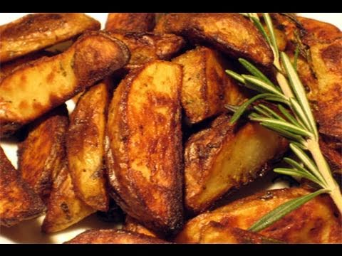 "Roasted Rosemary & Garlic Potatoes Recipe – Laura Vitale ""Laura In The Kitchen"" Episode 26"