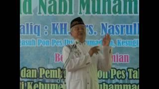 Sambutan H. Amir Hasan Pada Peresmian Masjid AD DIIN