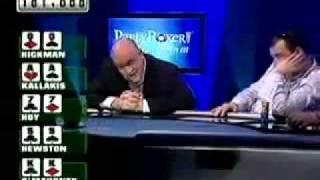 Increible Mano De Poker Texas Holdem