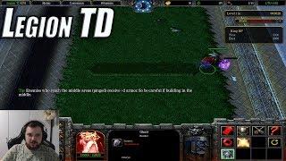"TaeR и Банда в ""Warcraft 3: Legion TD""●(Против Зрителей)"