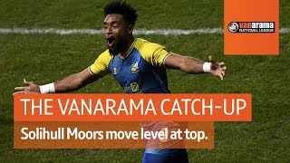 Solihull Moors go level at top of the league!   National League Highlights: Matchday 39