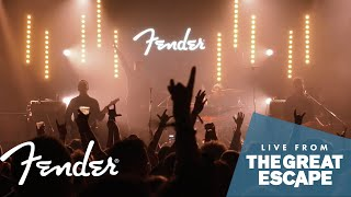 "Black Peaks Perform ""Can't Sleep"" 