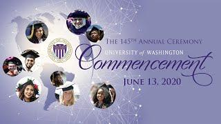 2020 University of Washington Commencement