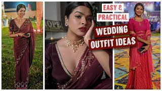 Wedding Guest Outfit Ideas (P1) | How I Designed & Planned My Outfits| Reusing Old Skirts & Kurtas