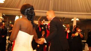"Darius Rucker's ""History in the making"" - Our first wedding dance"