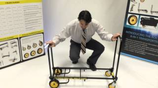 """RocknRoller Multi-Cart R2RT """"Micro"""" Product Overview"""