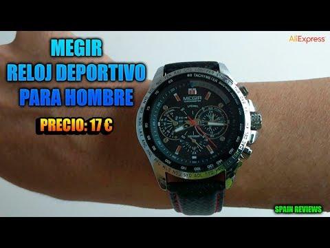 MEGIR - Reloj deportivo para hombre 11 euros AliExpress