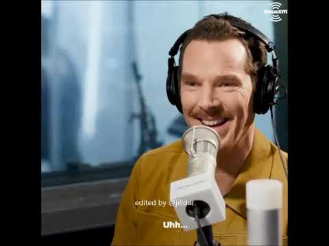 Benedict Cumberbatch on The Michelle Collins Show 2018/11 (видео)