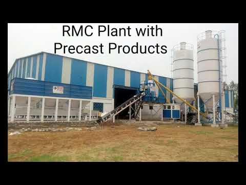 Modular Concrete Mixing Plant