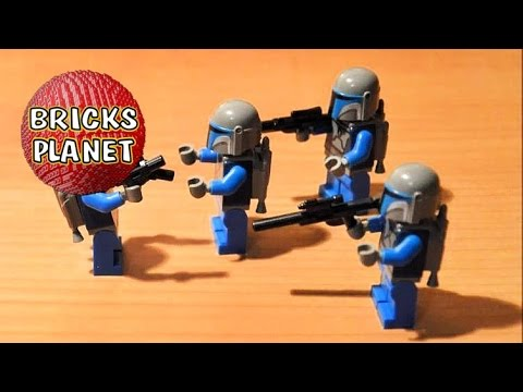 Vidéo LEGO Star Wars 7914 : Mandalorian Battle Pack