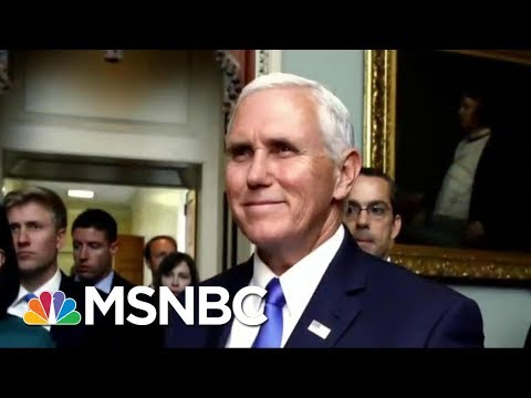 Is There Strategy Behind Vice President Mike Pence's Denials? | Morning Joe | MSNBC