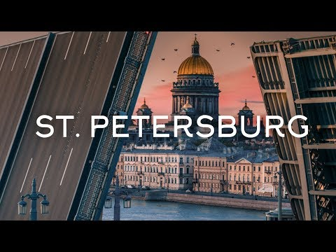 The city of white nights - Saint Petersburg drone video Timelab.pro// Город белых ночей, аэросъемка