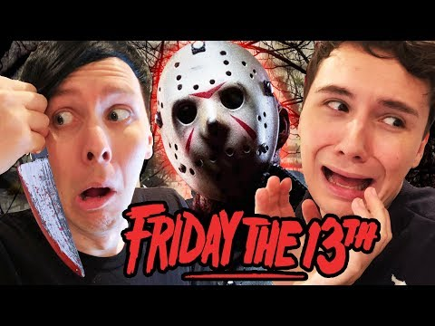 Dan and Phil vs. JASON - Friday the 13th!