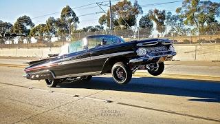 Compton CA Lowrider Car Show 1959 Impala TheMotherShip