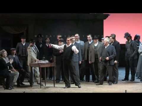 Cavalleria Rusticana- Viva il vino.., Scene with Alfio and Aria -Mamma.. - Turiddu (Golovnin)
