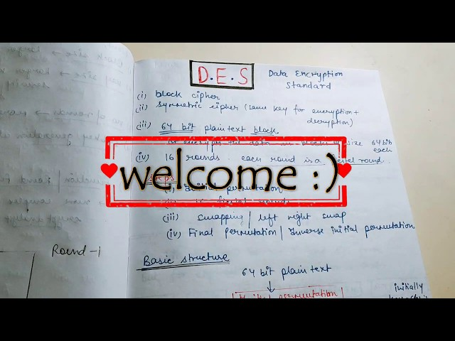 DES in Hindi video-1 | Data Encryption Standard in Cryptography
