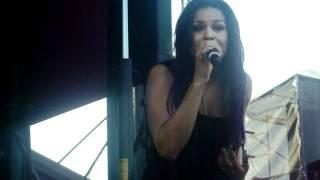 Jordin Sparks Performs No Air - Darien Lake 5/21/11