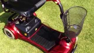 preview picture of video 'Helping Hand Mobility Cheshire - Electric Mobility, Ultralite 480 mobility scooter for sale.'