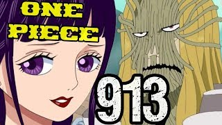"""One Piece Chapter 913 Review """"Straw STAND POWER!!"""""""