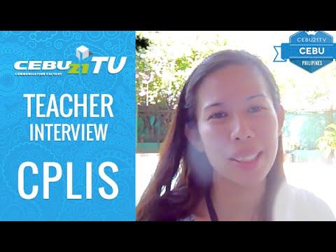 セブ島 CPLIS 先生インタビュー by フィリピン留学 CEBU21