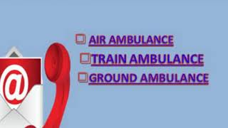 Well-Occupies and Reliable Global Air Ambulance Service from Kolkata