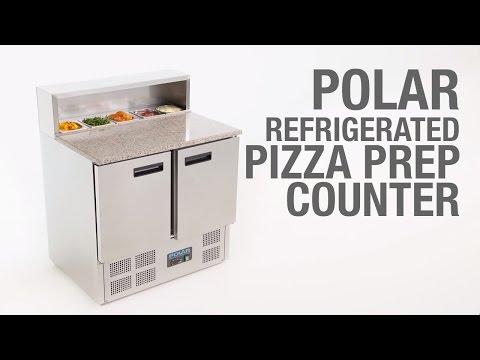 Polar G-Series Pizza Prep koelwerkbank 288 liter