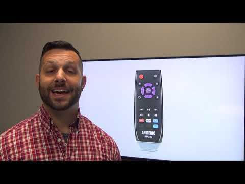 ANDERIC RR280 for Roku TV Remote Control