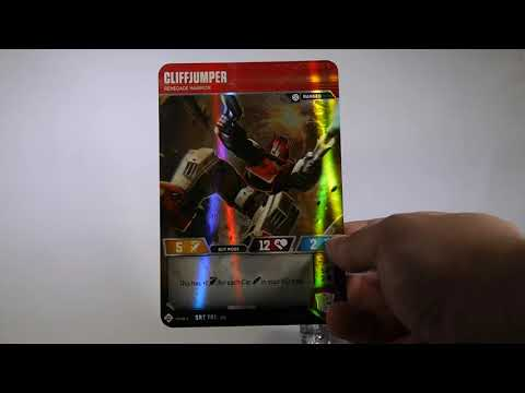 SDCC 2018: Transformers Trading Card Game First Look
