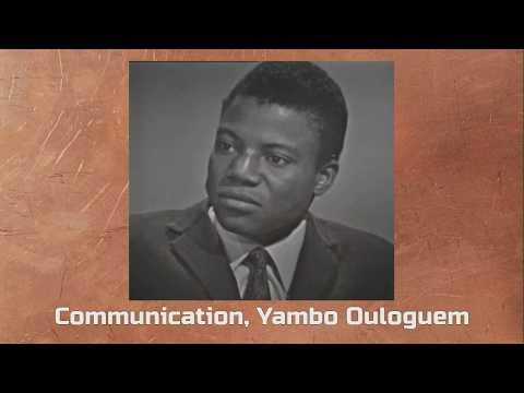 Vidéo de Yambo Ouologuem