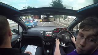 Mock Driving Test with Luke Harvey in Derby With Go2 Driving School