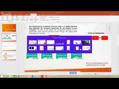 Oracle Primavera P6- Live Training Session 1 - YouTube