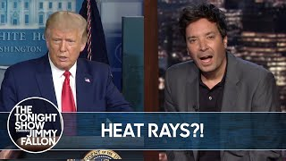 Trump Considered Using a Heat Ray on Protestors   The Tonight Show