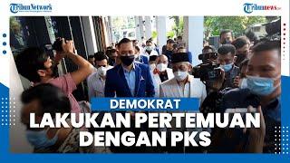Partai PKS dan Demokrat Bertemu Bahas Isu Terkini hingga Pandemi
