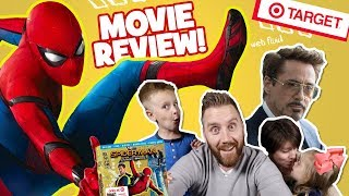 Spider-Man Homecoming Family Movie Review & Exclusive Spider-Man Comic Book!!