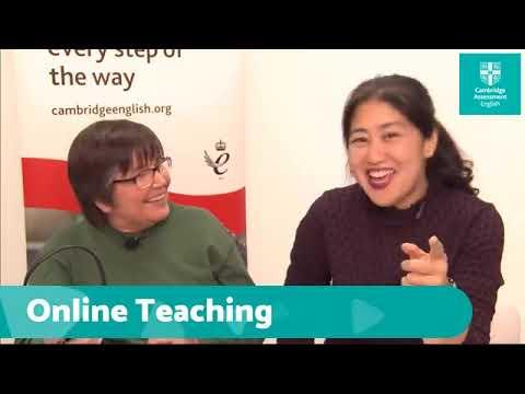 How To Teach English Online | Cambridge English - YouTube