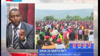 Mjadala kuangazia siasa za North Rift: KTN leo (Sehemu ya pili)