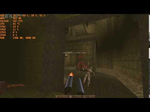 Quake 1 with Vulkan API - vkQuake - смотреть онлайн на Hah Life