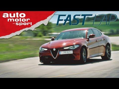 Alfa Romeo Giulia Quadrifoglio: Italo Western mit Happy End? - Fast Lap | auto motor und sport