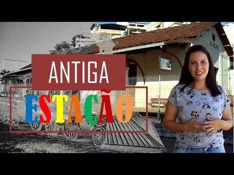 Uma aventura história na antiga estação de Alegre- ES.